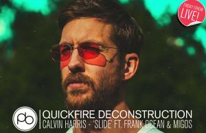 Watch a Deconstruction of Calvin Harris – 'Slide' ft. Frank Ocean with Point Blank Music School